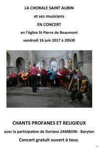 Affiche Concert paroisse St Aubin 207x168