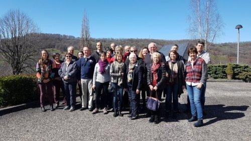 Les membres du MCC à la promarede le 23 mars 2017