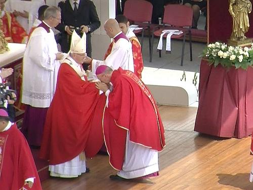 Bénédiction du pallium de Mgr Kalist à Rome le 29 juin 2017-6