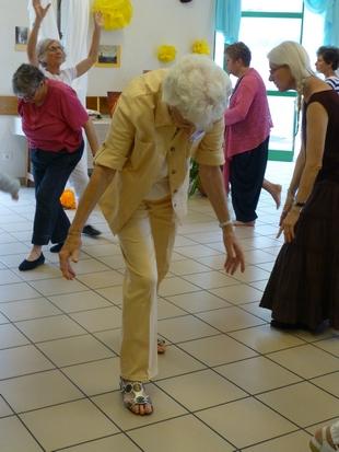 Pèlerins danseurs