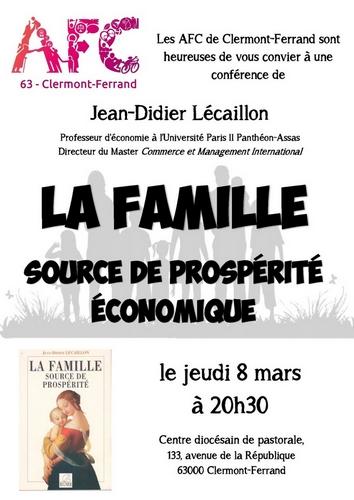 La famille source de prospérité