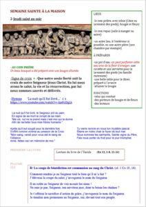 S.Sainte 2020 Jeudi Saint