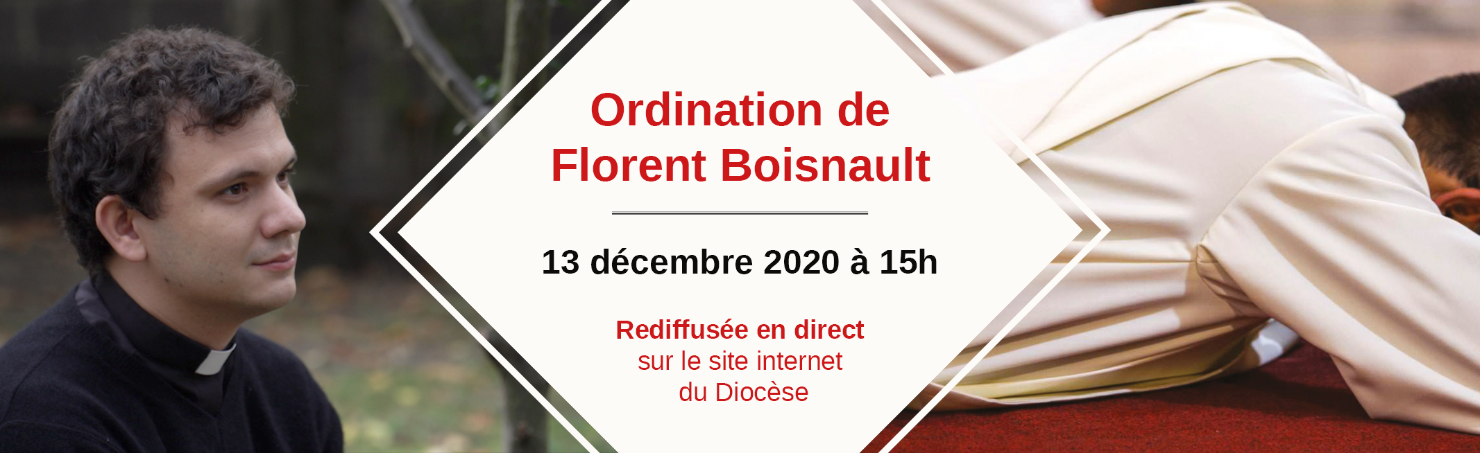 Ordination de Florent Boisnault